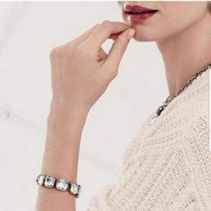 Chloe + Isabel Retro Glam Square-Cut Bracelet